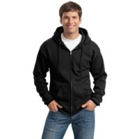 Essential Fleece Full Zip Hooded Sweatshirt Thumbnail