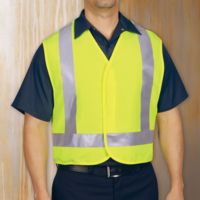 Red Kap VYV6 High Visibility Safety Vest Thumbnail
